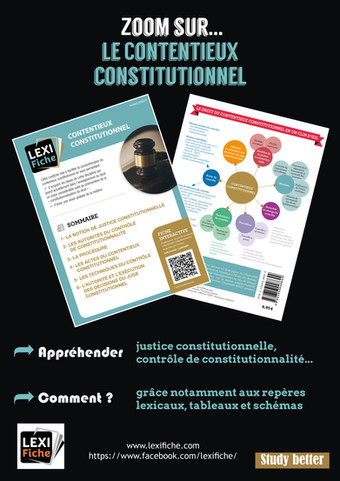 Zoom sur... la Lexifiche Contentieux constitutionnel