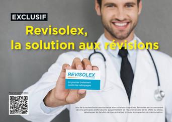 Revisolex, la pilule miracle pour booster tes révisions