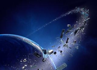 Des déchets jusque dans l'espace !