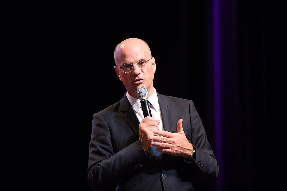C'est Jean-Michel Blanquer, le ministre de l'Éducation nationale, qui a présenté la réforme du bac. (photo : Jérémy Barande / Ecole polytechnique Université Paris-Saclay / cc-by-sa-2.0)