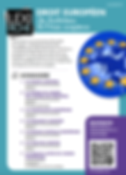 droit européen, les institutions de l'UE