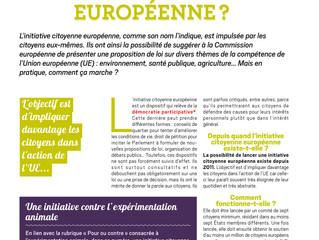 L'initiative citoyenne européenne, kezako ?