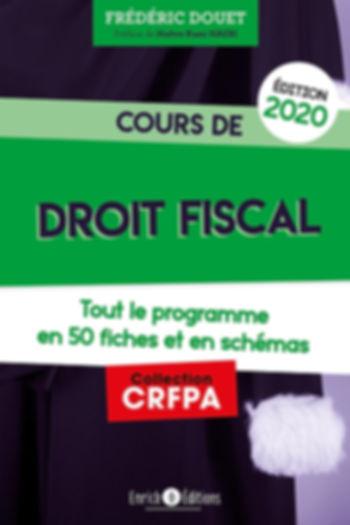 Cours de droit fiscal CRFPA