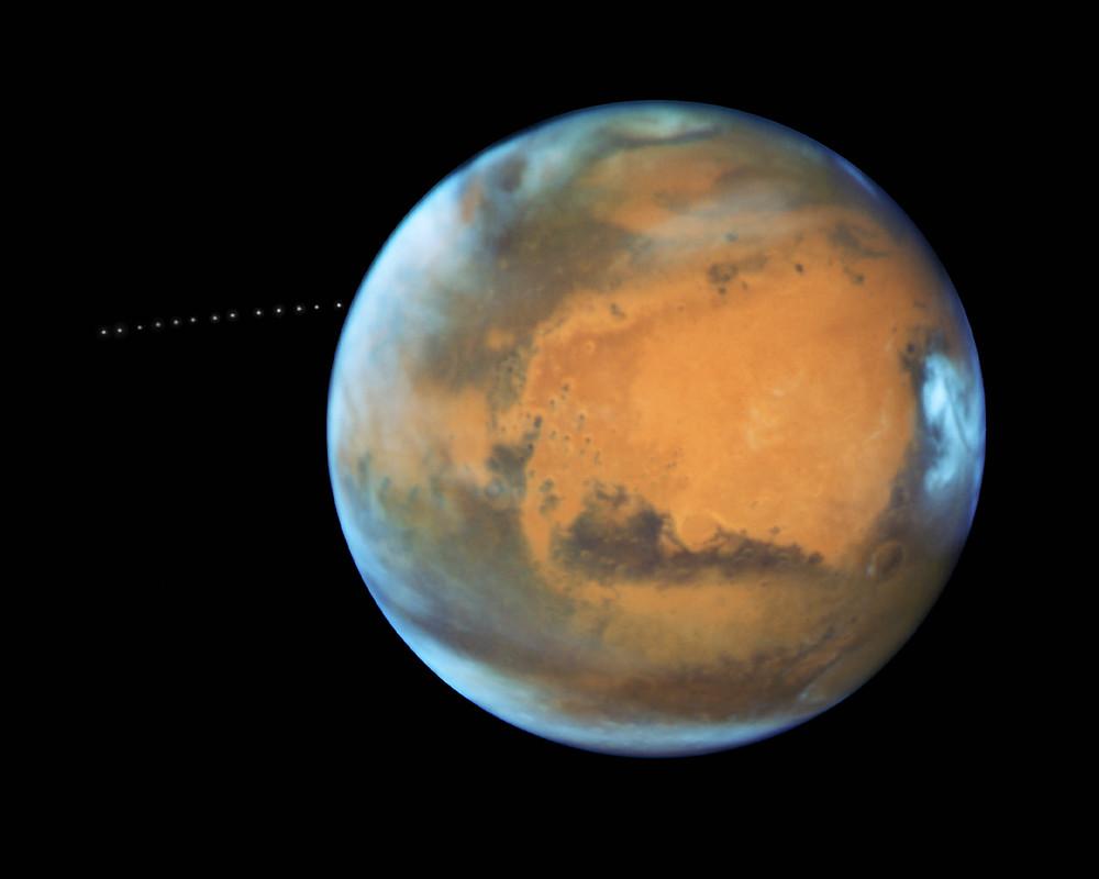 La planète Mars pourrait être conquise grâce à un ordinateur très performant. (NASA, ESA, and Z. Levay (STScI) - CC BY 2.0)