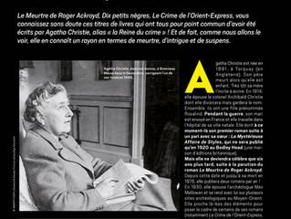 Agatha Christie, la reine du crime...