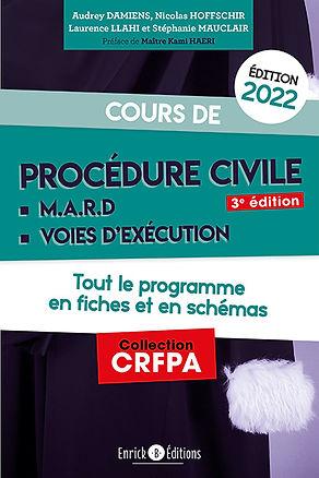 Cours de procédure civile 2022