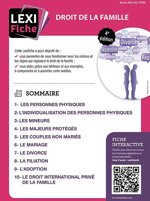 Lexifiche  -  Droit de la famille