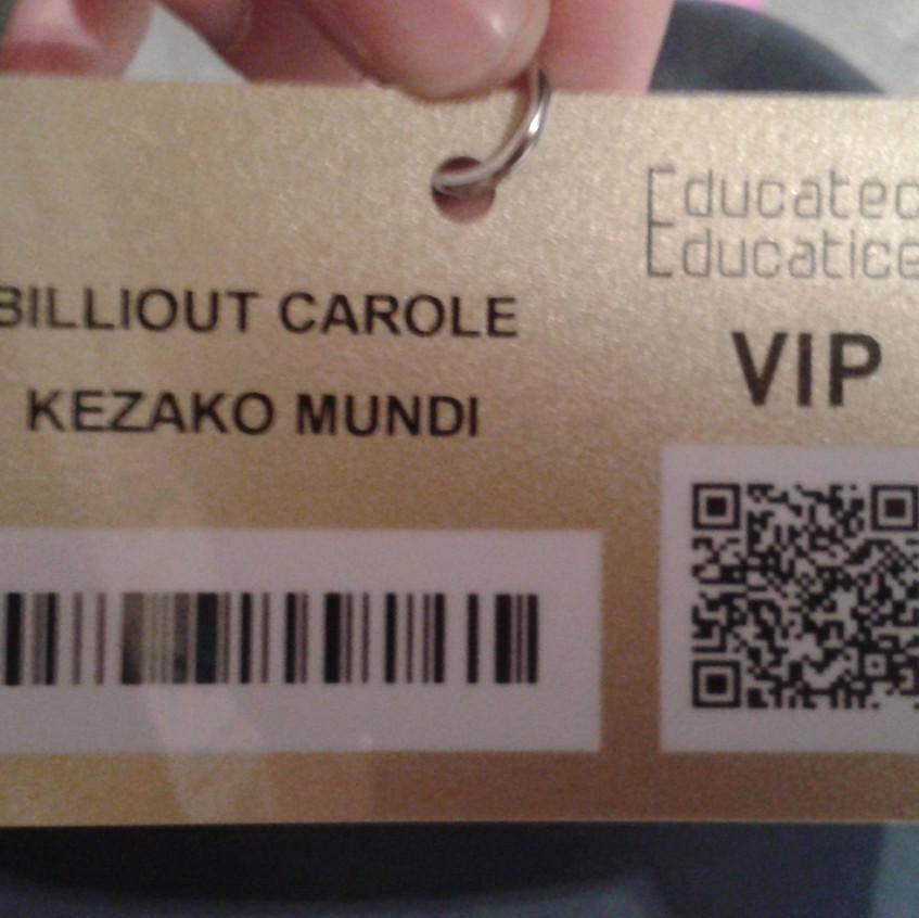 Badge Salon européen de l'éducation