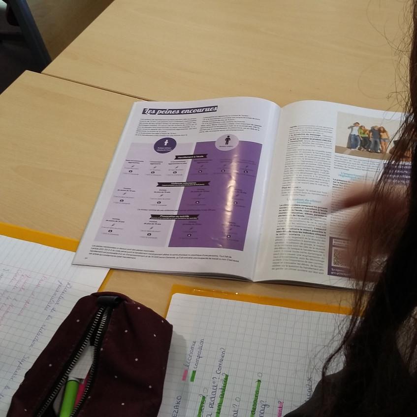 Kezako mundi intervention lycée Pithiviers 2