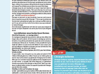 Première éolienne flottante en France