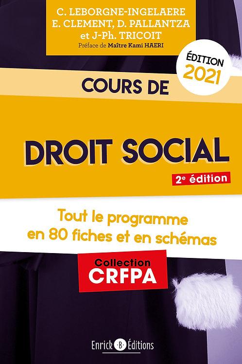 Cours de Droit social