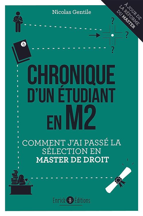 Chroniques d'un étudiant en M2