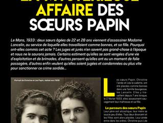 Connaissez-vous l'affaire des soeurs Papin ?