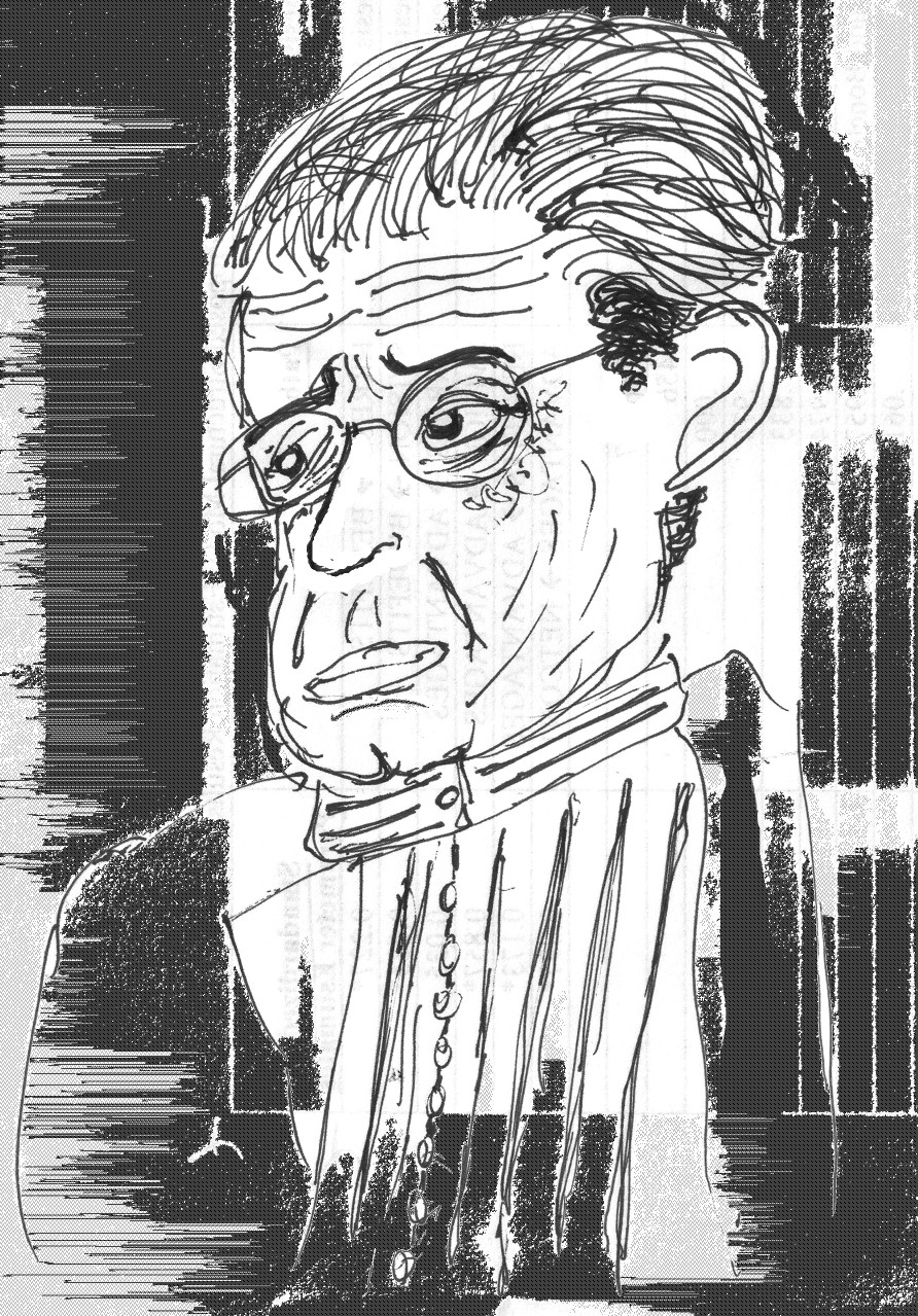 La psychologie a disparu des programmes, au lycée, en 2003, après avoir été réduite, les dernières années, à des études de textes de Freud et Lacan, ici représenté dans un dessin. (Edward Drantler - CC BY-SA 3.0)