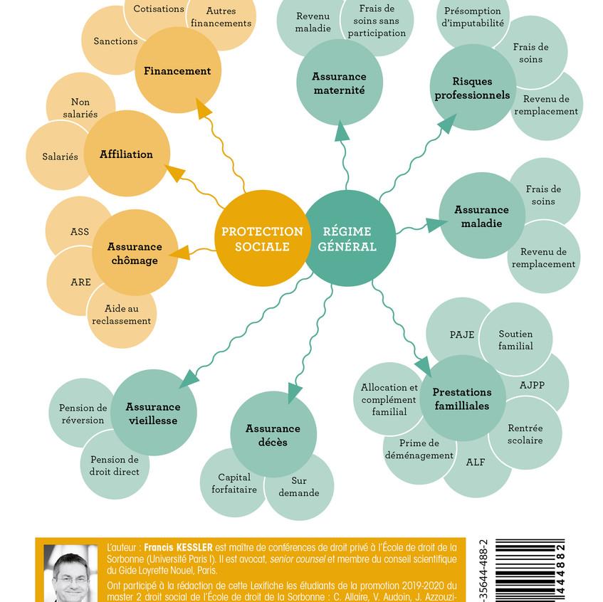 Mind mapping Lexifiche Droit de la prote