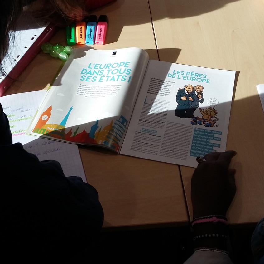 Kezako mundi intervention lycée Pithiviers 3
