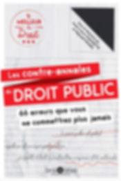 Les contre annales du Droit Public
