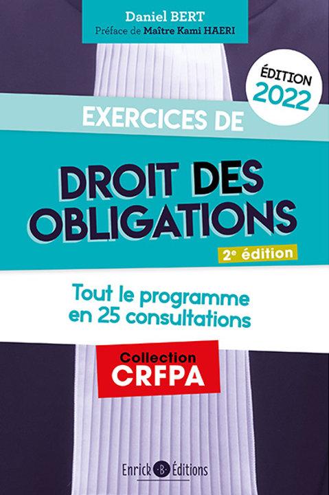 Exercices de  - Droit des Obligations 2022