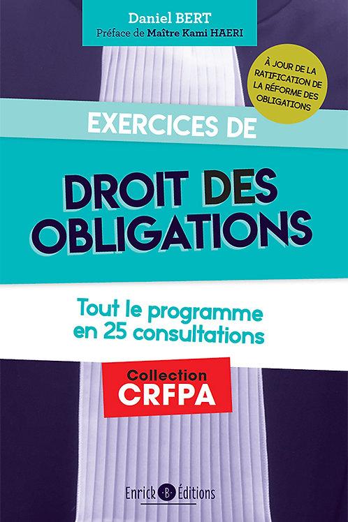 Exercices de  - Droit des Obligations