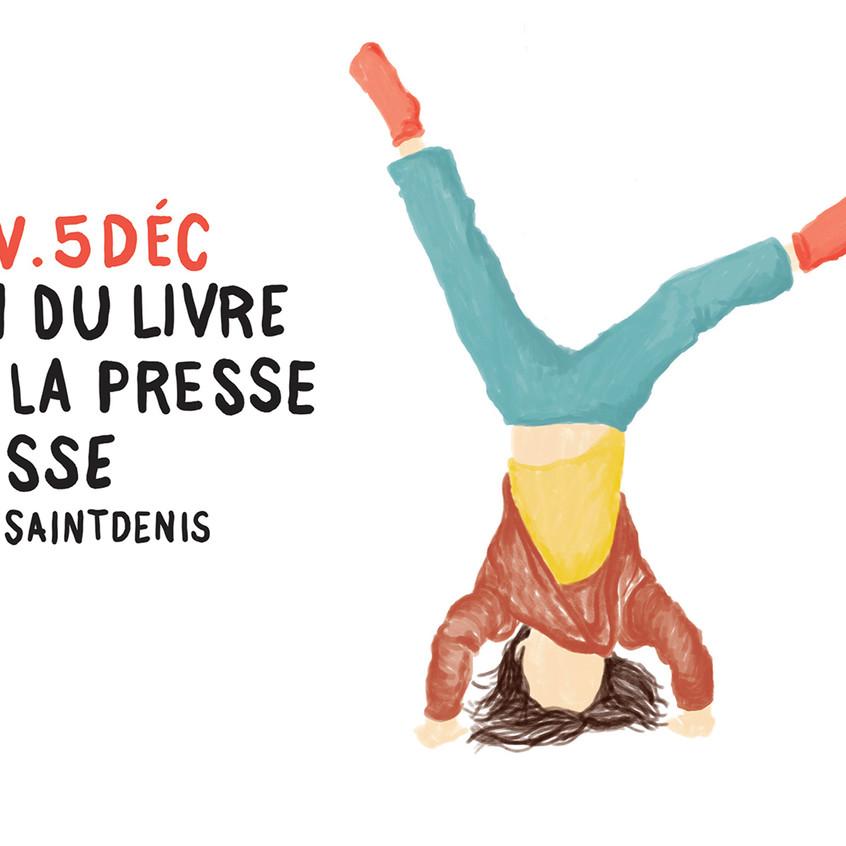Affiche Salon du livre et de la presse jeunesse de Montreuil