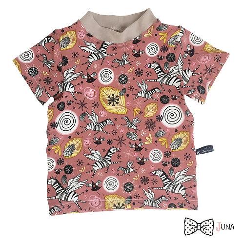 """T-Shirt """"ZebraLeaves"""""""