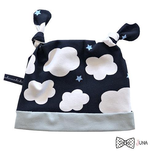 """Knotenmütze """"CloudsAbove"""""""