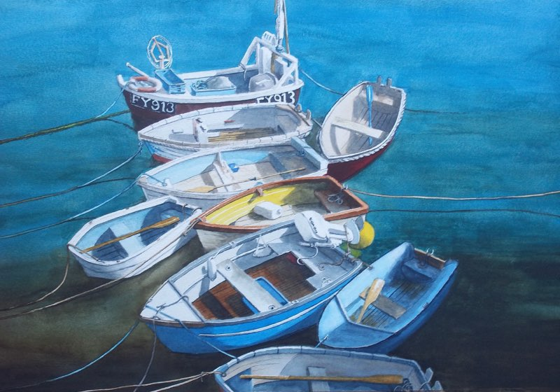 Fishing Boats St Ives, 2016