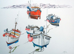 Fishing Boats St Ives, 2015