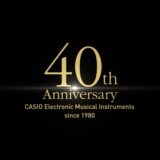 CASIO Electric Musical Insturuments 40th Anniversary, History Movie