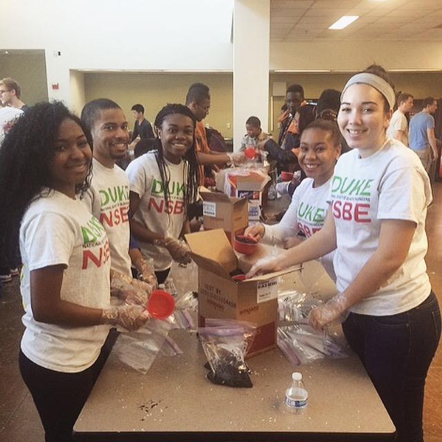 MLK Volunteering 2015