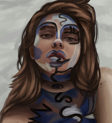 Painted Girl