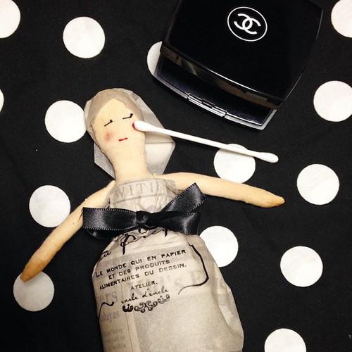サチさんの人形