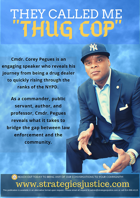 """THEY CALLED ME """"THUG COP"""""""