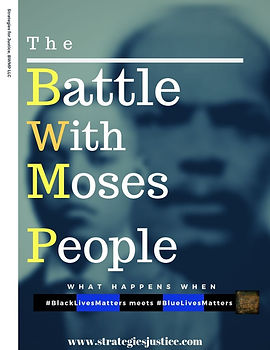 THE BATTLE WITH MOSES' PEOPLE