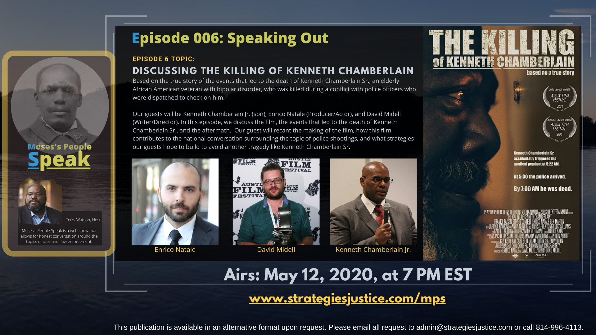 Ep 006 DISCUSSING THE KILLING OF KENNETH CHAMBERLAIN