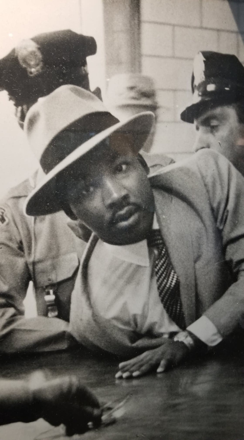 Dr. Kings being arrested