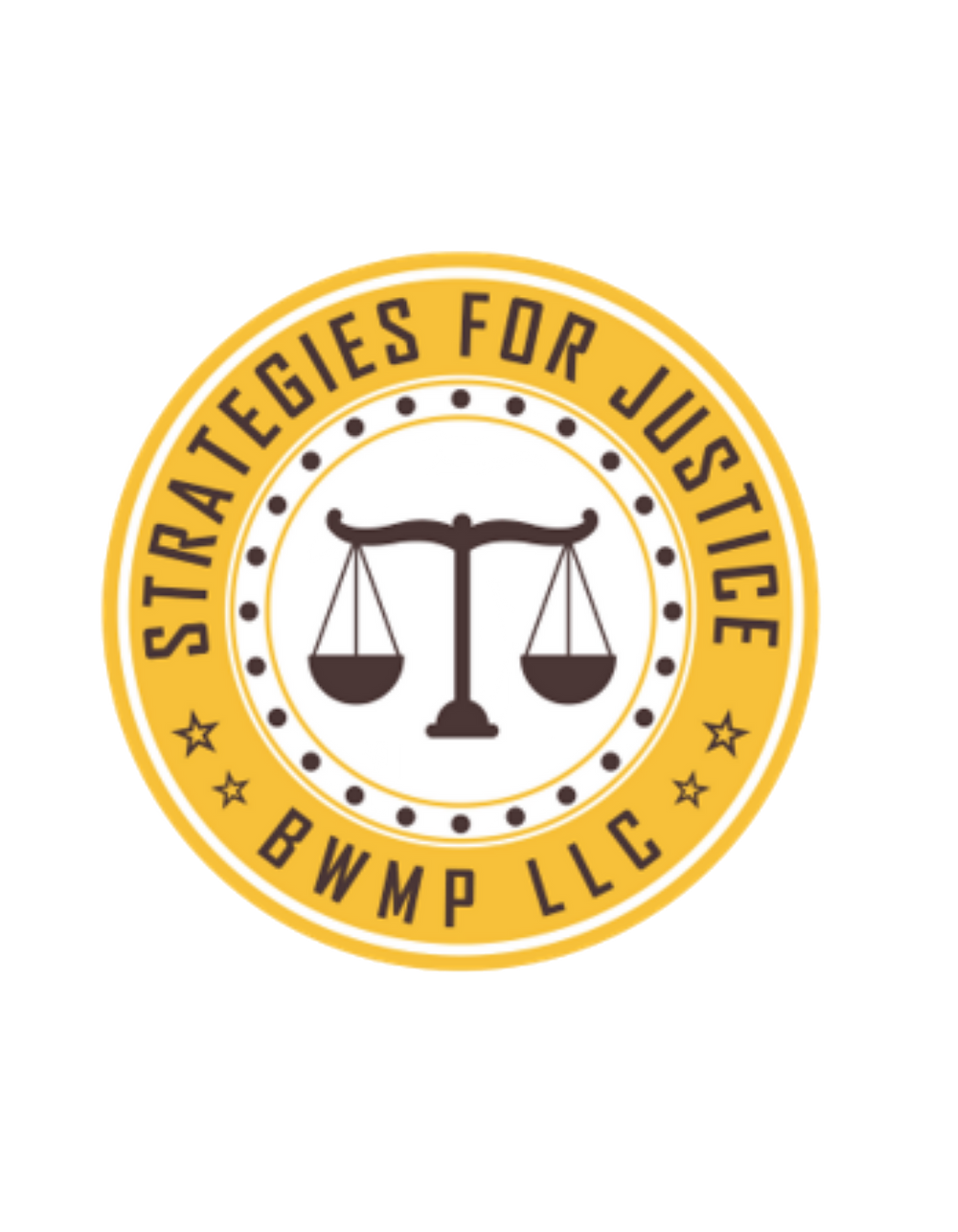 Strategies for Justice Logo