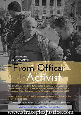 FROM OFFICER TO ACTVIST