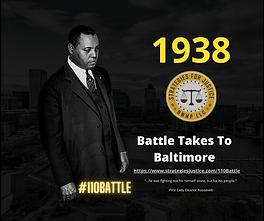 Battle Takes To Baltimore
