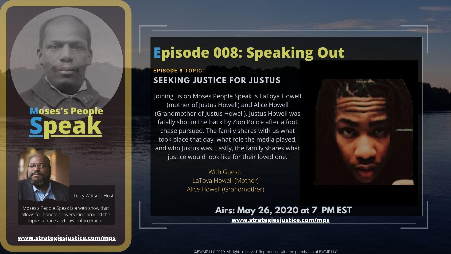 Ep 008 Seeking Justice for Justus