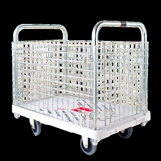 XA-BW|プラ台車カゴ台車 W605*D935 300kg