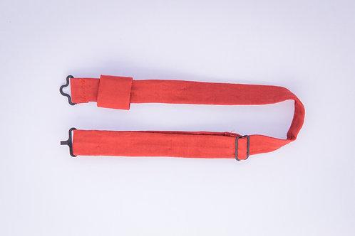Tour de cou en coton pour nœud papillon en bois ou en plexiglass – Uni