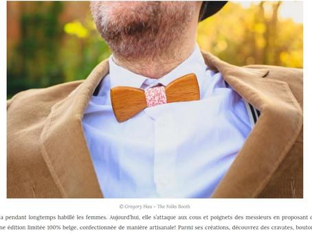 Petite parution sur un blog 100% belge...