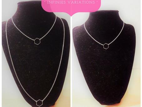 ° Infinies Variations ° - Le nouveau concept de bijoux Au Dé filé