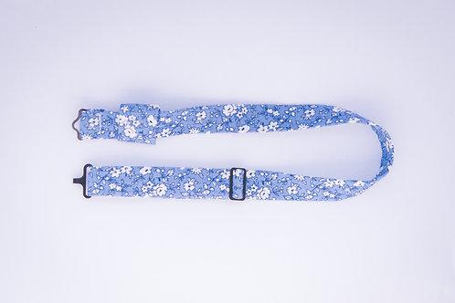 Tour de cou en coton pour nœud papillon en bois ou en plexiglass – Fleuris