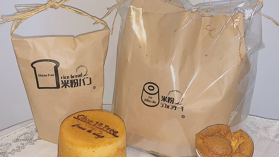 🌾 Glue 10 Free 8CUP Shifon cake & Bread