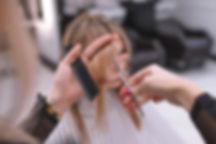 Стрижка челки в комплексе с другими парикмахерскими услугми в Scissors Studio в Москве