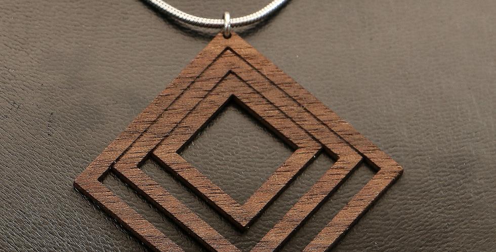 Halskette cuadrados