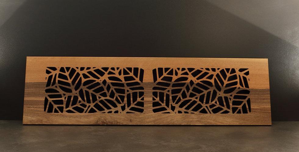 Lange Holzuntersetzer