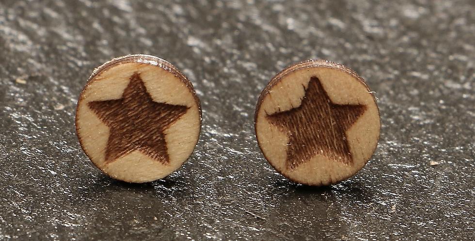 Ohrstecker estrella